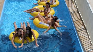 Griechenland Kreta Ausflug Acquaplus Wasserpark