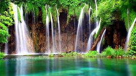 Kroatien Novalja Ausflug Plitvicer Seen