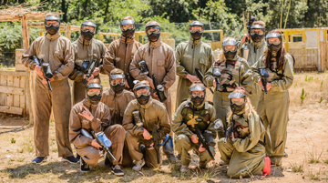Spanien Lloret de Mar Ausflug Paintball