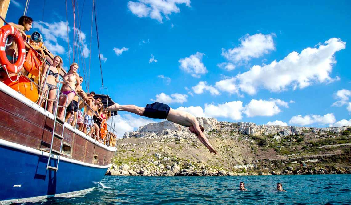 Malta Abireise Partyreise