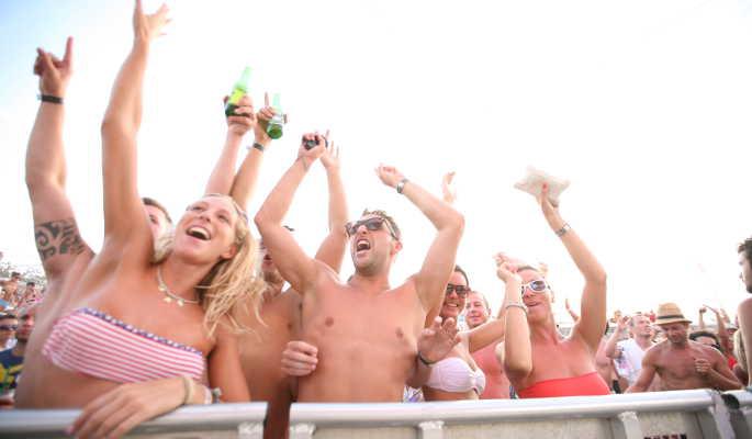 Kroatien Novalja Abireise Partyurlaub 11