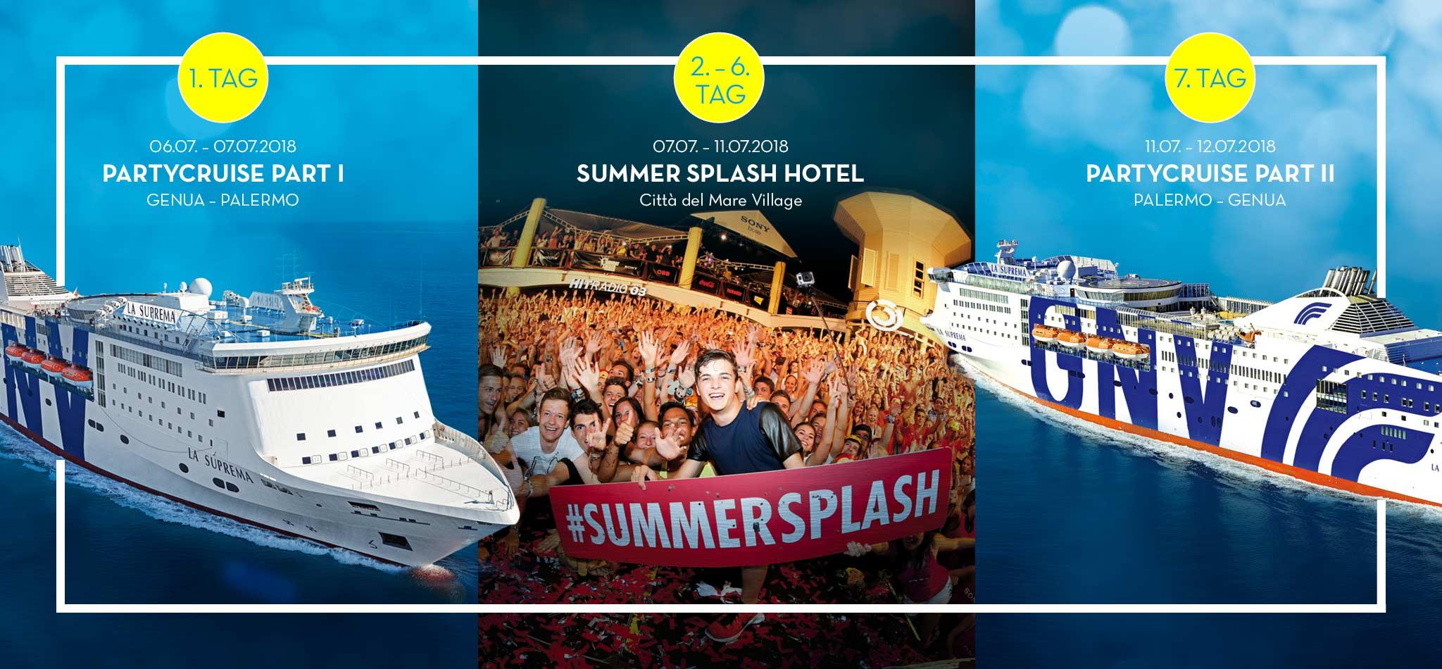 Summer Splash Konzept