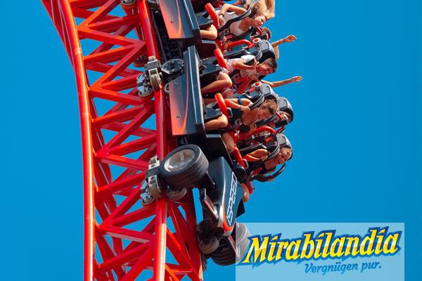 Tagesausflug in den Freizeitpark Mirabilandia