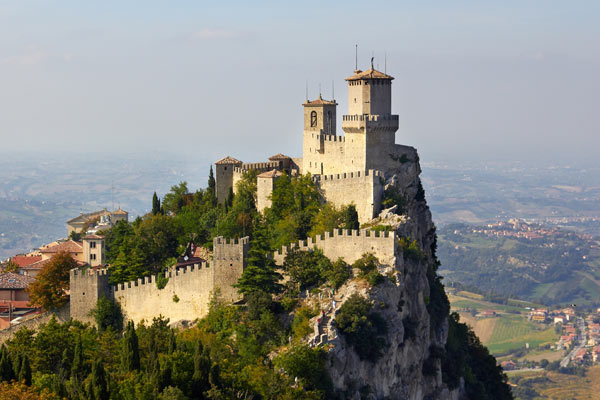 Ein Tag im wunderschönen San Marino