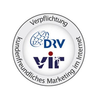 Logo vom Deutschen Reiseverband