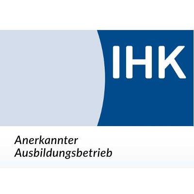 Logo IHK anerkannter Ausbildungsbetrieb