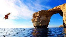 Portugal Albufeira Ausflug Höhlen und Delphinbeobachtung