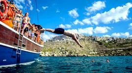 Mallorca El Arenal Ausflug Partyboot Beat´N´Boats