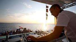 Kroatien Novalja Ausflug Party Boot