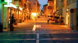 Italien Rimini Ausflug Rimini Altstadt