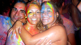Bulgarien Sonnenstrand Ausflug Neon Splash Party