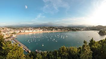 Frankreich St. Girons Ausflug San Sebastian