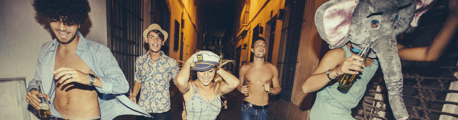 Partyurlaub<br /> mit FUN-Reisen &mdash;