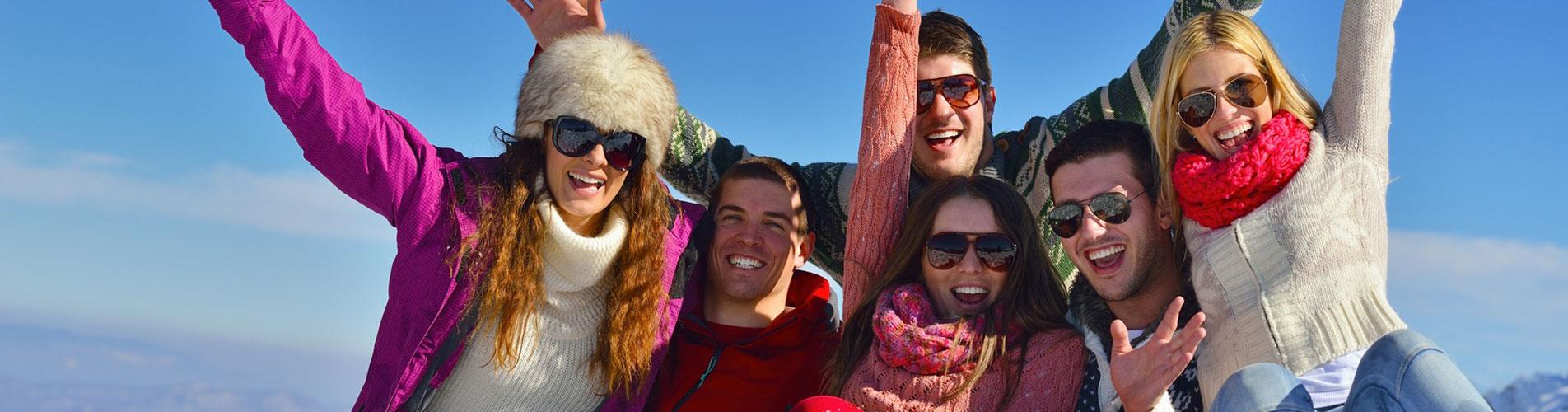 Winterreisen und Après-Ski Partys