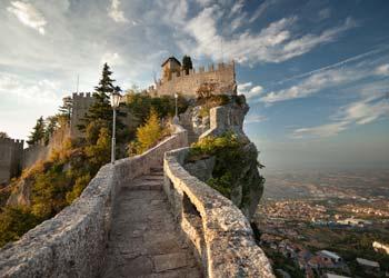 San Marino in Italien