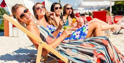 Für Partygänger und Sonnenanbeter
