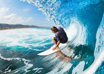 Professionelles Surf Equipment