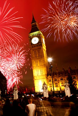 Silvesterreise London