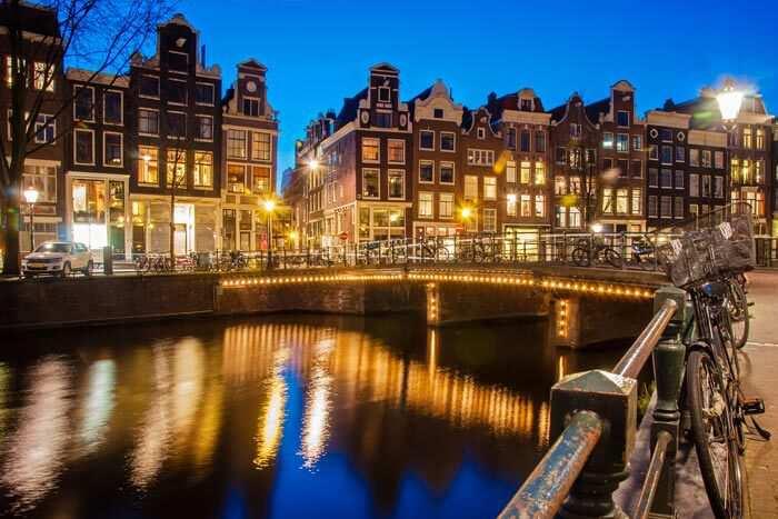Silvester in Amsterdam