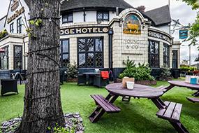London Bridge Hotel Garten