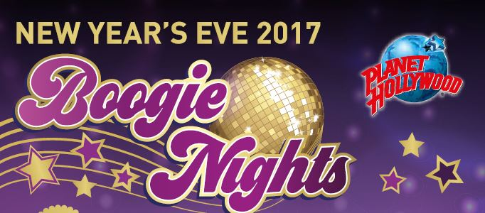 Boogie Nights in der Londoner Silvesternacht nach im Planet Hollywood