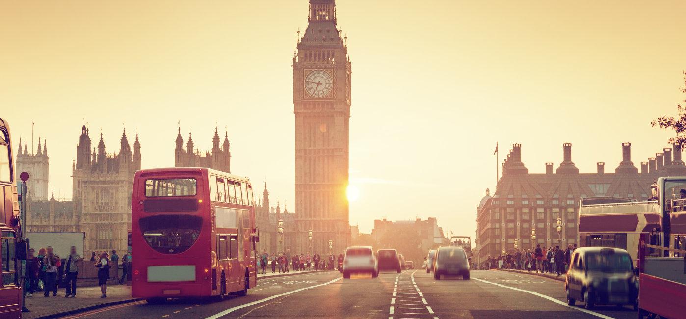 Städtereisen - Mit den Bus nach London - 3,5-Tage-Reise
