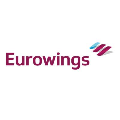 Logo der Fluggesellschaft Eurowings